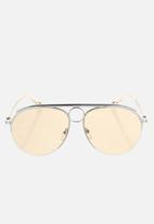 Chloe - Chloe aviator sunglasses - rose gold/rose