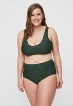 Vero Moda - Jules highwaisted bikini bottom - green