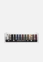 lottie london - Shadow Swatch Eye Shadow Palette - The Smokes