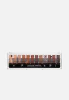 lottie london - Shadow Swatch Eye Shadow Palette - The Rusts