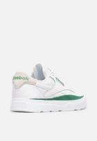 Reebok - Reebok legacy court - white/glen green/white
