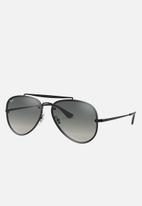 Ray-Ban - Ray-ban aviator sunglasses 58mm - black