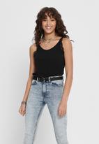 Jacqueline de Yong - Elena lace singlet - black