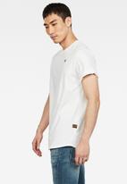 G-Star RAW - Lash r short sleeve tee - white