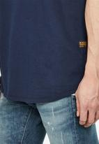 G-Star RAW - Lash r short sleeve tee - navy