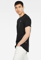 G-Star RAW - Lash r short sleeve tee - black