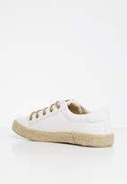 Miss Black - Craft sneaker - white