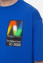 New Balance  - Nb sport style optiks tee - blue