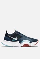 Nike - SuperREP Go - deep ocean & pure platinum-white