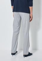 Superbalist - Ohio straight fit chino - grey