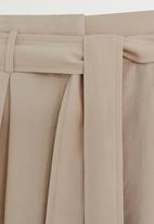 MANGO - Mar shorts - beige