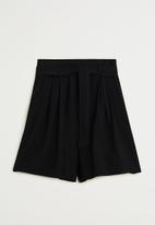 MANGO - Mar shorts - black