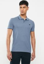 Lee  - Icon melange polo - blue