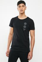 S.P.C.C. - Tallis fashion straight hem T-shirt - black
