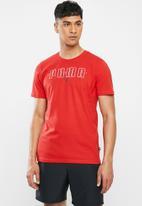 PUMA - Puma brand tee - red