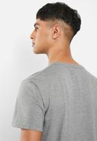 Fox - Legacy fox head short sleeve tee - grey