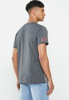 Fox - Delta short sleeve tee - grey