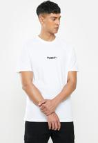 PUMA - Avenir graphic tee - white