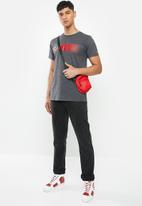 Fox - Gear drop short sleeve tee - dark grey