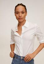 MANGO - Shirt sofia - white