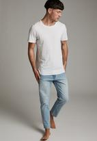 Cotton On - Raw crop jean - vintage blue
