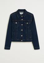 MANGO - Vicky chaqueta jacket - blue