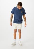 Cotton On - Tbar art T-shirt - blue