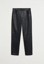 MANGO - Trousers Lille - black