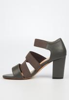 Butterfly Feet - Beloved heel - grey