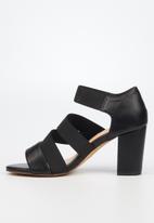 Butterfly Feet - Beloved heel - black