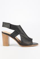 Butterfly Feet - Dutch heel - black