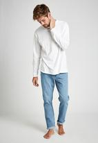 Cotton On - Tapered leg jean - weekday blue