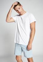 Cotton On - Straight short - bondi blue