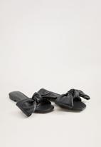 MANGO - Momo sandal - black