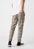 Cotton On - Oxford trouser - grey prince check