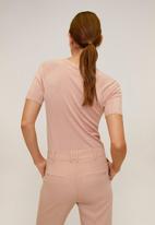 MANGO - Almas sweater - pink