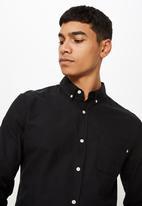 Cotton On - Brunswick shirt 3 - black