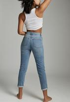 Cotton On - Stretch mom jean - aireys blue