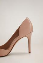 MANGO - Audrey heel - light pastel pink
