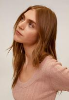 MANGO - Diana top - pink
