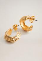 MANGO - Yani earrings - gold