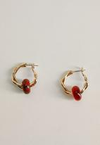 MANGO - Soren earrings - gold