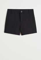 MANGO - Shorts nina - black