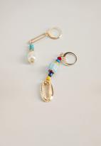 MANGO - Verda earrings - gold