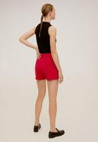MANGO - Shorts nina - red