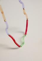 MANGO - Tambutan necklace - multi