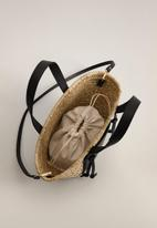MANGO - Toscana bag - black