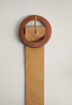 MANGO - Madeira belt - brown