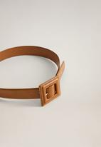 MANGO - Lovi belt - brown