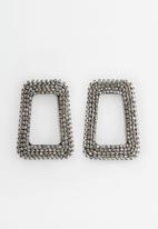 MANGO - Earrings rihanna - silver